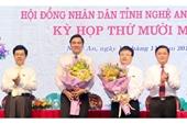 3 tỉnh bầu bổ sung Phó Bí thư, Phó Chủ tịch HĐND tỉnh