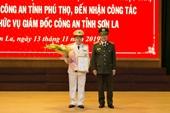 Phó Giám đốc Công an Phú Thọ được bổ nhiệm Giám đốc Công an tỉnh Sơn La