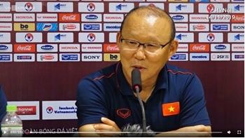 Ông Park nhận định về 'địch thủ' Thái Lan