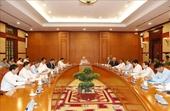 Tổng Bí thư, Chủ tịch nước chủ trì họp Thường trực BCĐ Trung ương về phòng, chống tham nhũng
