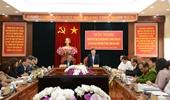 Viện trưởng VKSND tối cao Lê Minh Trí làm việc tại tỉnh Lâm Đồng