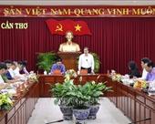 Ban chỉ đạo Trung ương về phòng, chống tham nhũng làm việc tại TP Cần Thơ