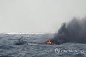 Vụ cháy tàu cá ở Hàn Quốc Có 5 nạn nhân người Quảng Bình đang mất tích