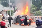 Thông tin thêm về vụ nữ tài xế lái xe Mercedes tông liên hoàn ở Hà Nội