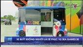 Xe buýt không người lái sẽ phục vụ SEA Games 30