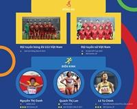 SEA Games 30 Những hy vọng vàng của thể thao Việt Nam