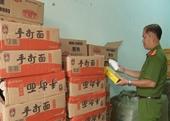 Tạm giữ lô hàng không rõ nguồn gốc ở ga Đà Nẵng