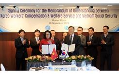 BHXH Việt Nam và KCOMWEL ký kết Bản ghi nhớ hợp tác giai đoạn 2020-2025