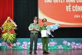 Đại tá Phạm Minh Thắng được giao phụ trách Công an tỉnh Đắk Lắk