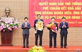 Thủ tướng phê chuẩn kết quả bầu 2 Phó Chủ tịch UBND tỉnh Nghệ An
