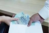 Cơ quan Điều tra VKSND tối cao bắt quả tang đại úy - điều tra viên nhận tiền hối lộ
