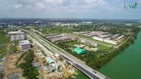 Độc đáo đô thị 'án ngữ' trung tâm hành chính tỉnh Long An