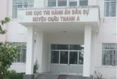 Truy tố sếp Chi cục thi hành án dân sự ăn bẩn gần 1 tỉ đồng