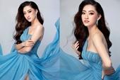 Hoa hậu Lương Thùy Linh nhờ váy xẻ cao hút mắt khoe vẻ đẹp tựa nữ thần