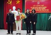 Công bố quyết định bổ nhiệm Phó Viện trưởng VKSND tỉnh Hà Tĩnh