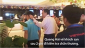 Quang Hải không thể đá trận Thái Lan