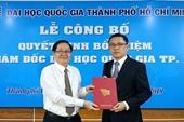 Thủ tướng bổ nhiệm Phó Giám đốc Đại học Quốc gia TP HCM