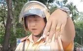 Lãnh đạo Phòng CSGT nói gì về cán bộ dưới quyền văng tục khi bị quay clip