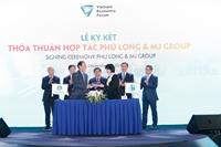 Phú Long ký kết với Mj Group hợp tác phát triển dịch vụ chăm sóc sức khoẻ và làm đẹp cao cấp
