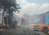 Xưởng gỗ xảy ra cháy lớn sau sự cố chập điện ở Đà Nẵng