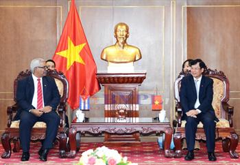 Việt Nam - Cuba tăng cường hợp tác giữa các cơ quan tư pháp, pháp luật