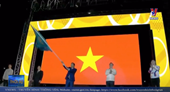 Việt Nam tiếp nhận cờ đăng cai SEA Games 31