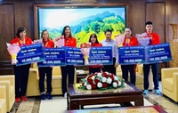 Quảng Ninh thưởng lớn 4 cô gái vàng