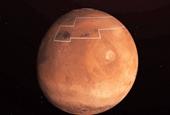 """NASA công bố bản đồ """"kho báu"""" băng nước trên sao Hỏa"""