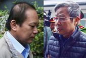 Hai cựu Bộ trưởng Nguyễn Bắc Son và Trương Minh Tuấn hầu tòa
