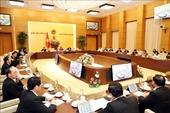 Ngày 17 12, khai mạc Phiên họp thứ 40 của Ủy ban Thường vụ Quốc hội khóa XIV