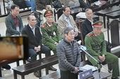 Bị cáo Nguyễn Bắc Son thừa nhận cáo trạng của Viện kiểm sát truy tố đúng tội
