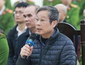 Các bị cáo khai Bộ trưởng Nguyễn Bắc Son chỉ đạo, giục làm và đều lại quả sau khi nhận tiền