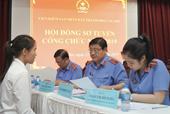 Thông báo thi tuyển công chức vòng 2 trong ngành Kiểm sát nhân dân