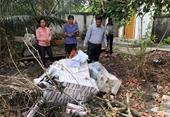 VKSND huyện Châu Thành kiểm sát tiêu hủy vật chứng