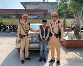 Cán bộ Đội CSGT số 14 phát hiện tài xế tàng trữ ma túy