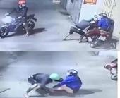 Người phụ nữ bị 2 đối tượng xịt hơi cay, cướp tài sản