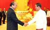 Thủ tướng Nguyễn Xuân Phúc hội kiến với Tổng thống Myanmar