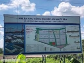 Hàng loạt sai phạm tại dự án khu công nghiệp, tái định cư ở Long An
