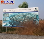 Dự án khu công nghiệp chậm triển khai 15 năm