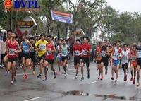 Gần 1 000 VĐV tham gia chạy Việt dã - chạy Vũ trang truyền thống Báo Đà Nẵng