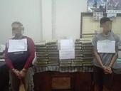 Phá đường dây vận chuyển ma túy khủng từ Lào về Việt Nam