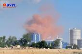 Công ty thép Hòa Phát gặp sự cố, bụi mịn màu hồng thoát ra môi trường