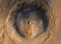 Phát hiện hồ nước trên sao Hỏa đã khô cạn 3,5 tỉ năm trước