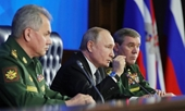 Tổng thống Putin tự hào tuyên bố Mỹ thua xa Nga về vũ khí chiến lược
