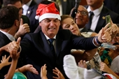 Tổng thống Brazil mất trí nhớ sau cú ngã trong nhà tắm