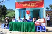 Viện kiểm sát tặng nhà tình nghĩa cho một hộ nghèo ở buôn cách mạng