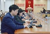 Tỉnh Quảng Ninh sẽ  không sử dụng giấy tờ trong các phiên họp thường kỳ