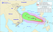 Bão Phanfone liên tục tăng cấp, khả năng đêm nay vào biển Đông