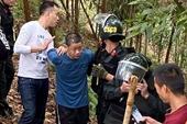 CLIP thời khắc nghẹt thở vây bắt hung thủ sát hại 5 người ở Thái Nguyên