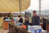 Lần đầu tiên ở Điện Biên, 3 Kiểm sát viên giữ quyền công tố tại phiên Tòa